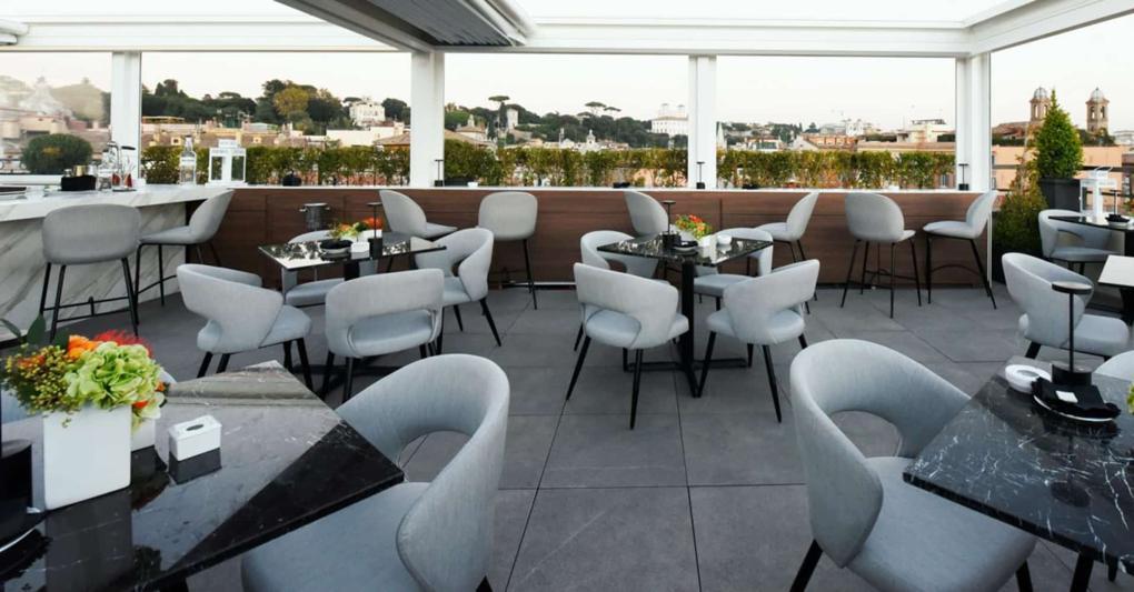 Rooftop Bar Roma Acquaroof Terrazza Molinari Il Sole