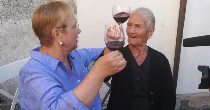 Lidia Bastianich nella Locride