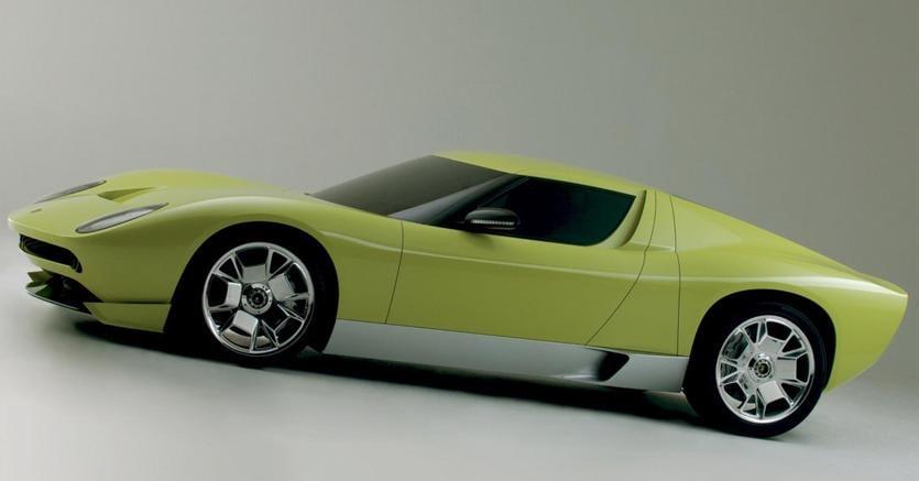 Le Dieci Auto Piu Belle Di Walter De Silva Lamborghini Miura