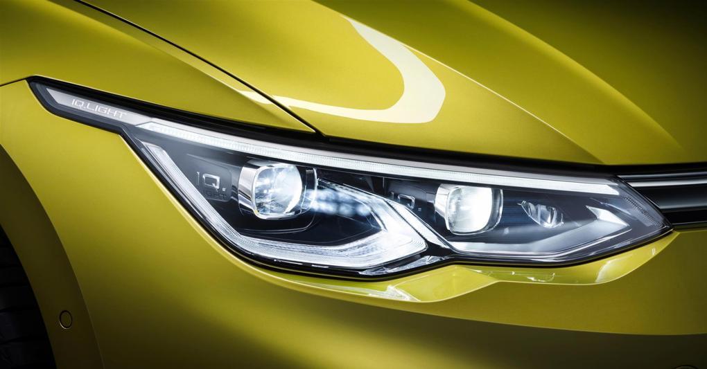 Volkswagen Golf 8 Fari Led Matrix Iq Light Il Sole 24 Ore