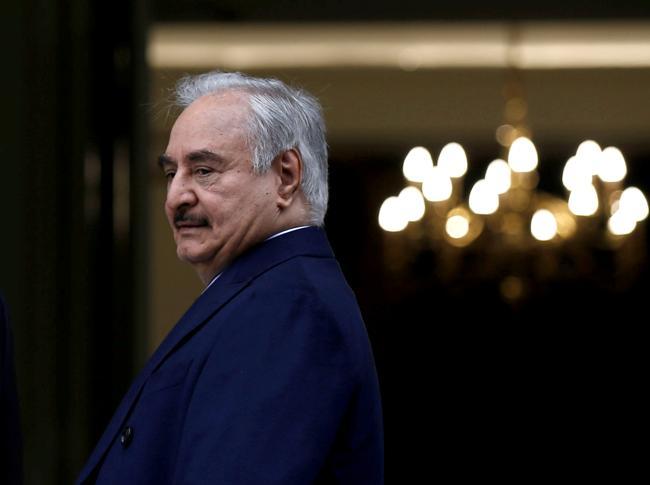 Khalifa Haftar (Reuters)
