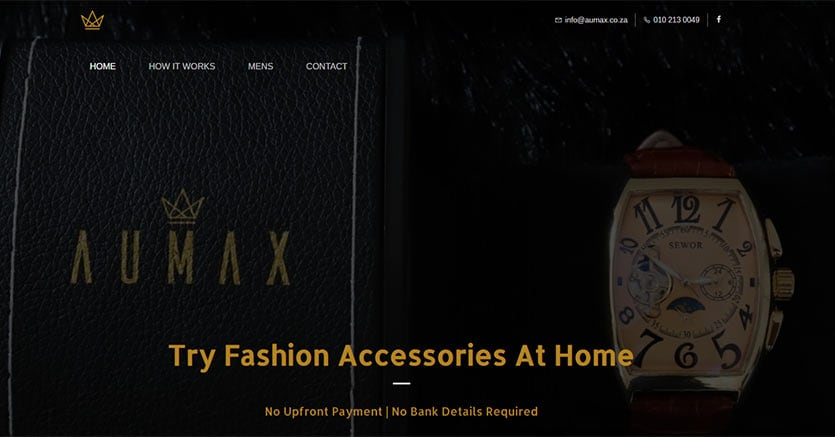 Il sito aumax.co