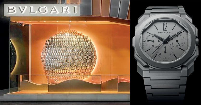L'Octo Finissimo Chronograph Gmt Automatic è l'orologio più sottile al mondo con queste complicazioni: la cassa in titanio spessa solo 6,90 mm ha permesso a Bulgari di battere il suo quinto record mondiale in fatto di ultra slim.  Prezzo: 17.400 euro