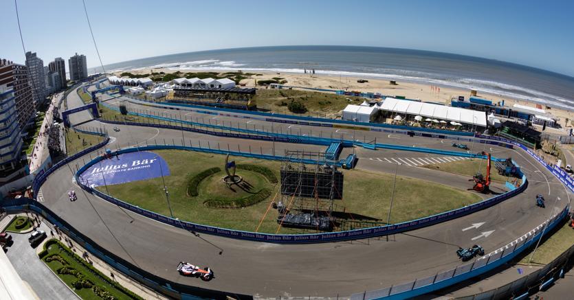 Formula E a Punta del Este, Uruguay (Afp)