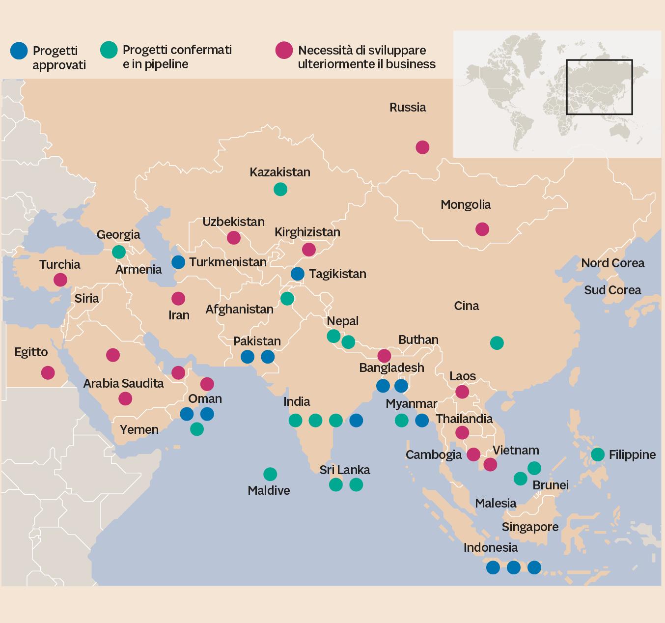I PROGRAMMI DELL'AIIB A SOSTEGNO DELLA BELT & ROAD