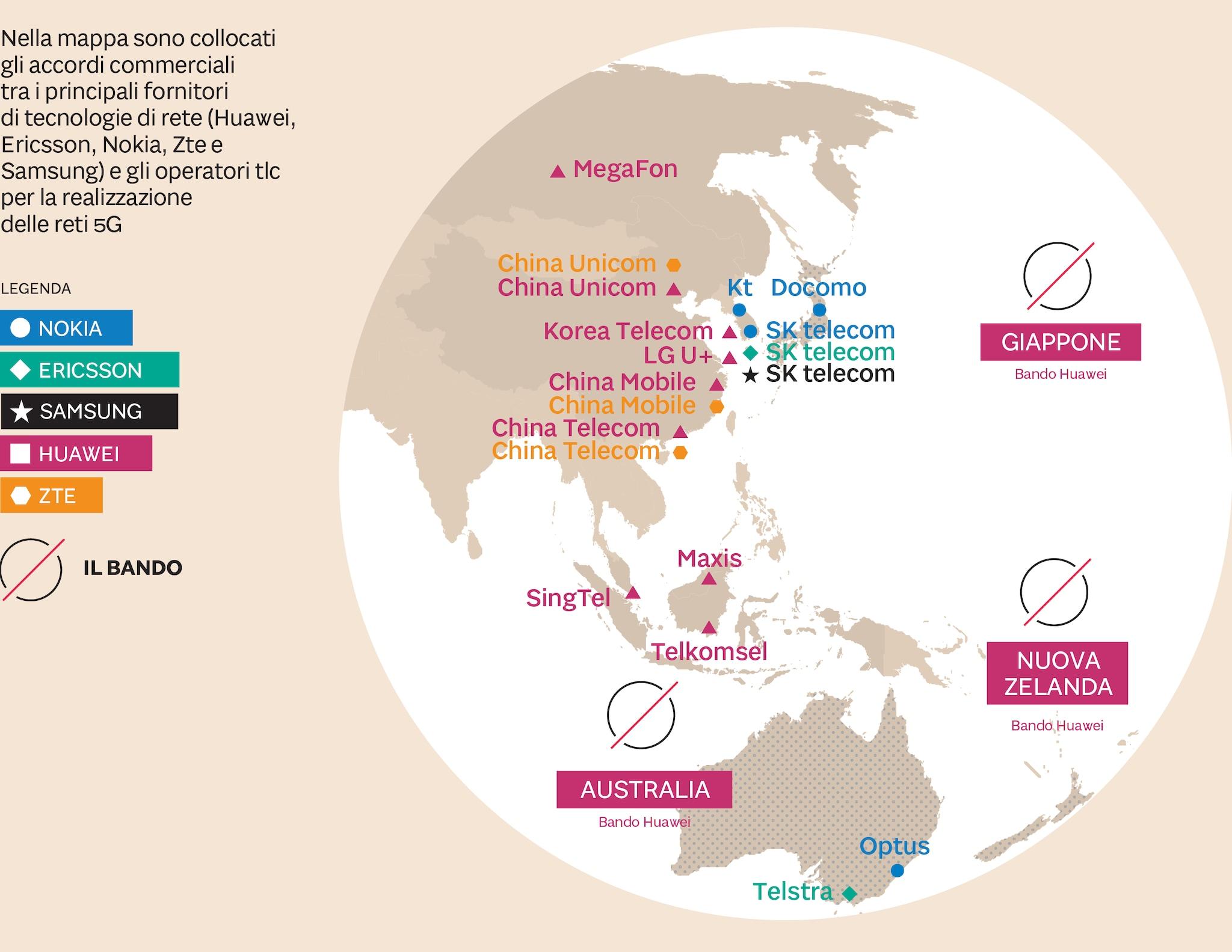 5G IN ASIA E OCEANIA
