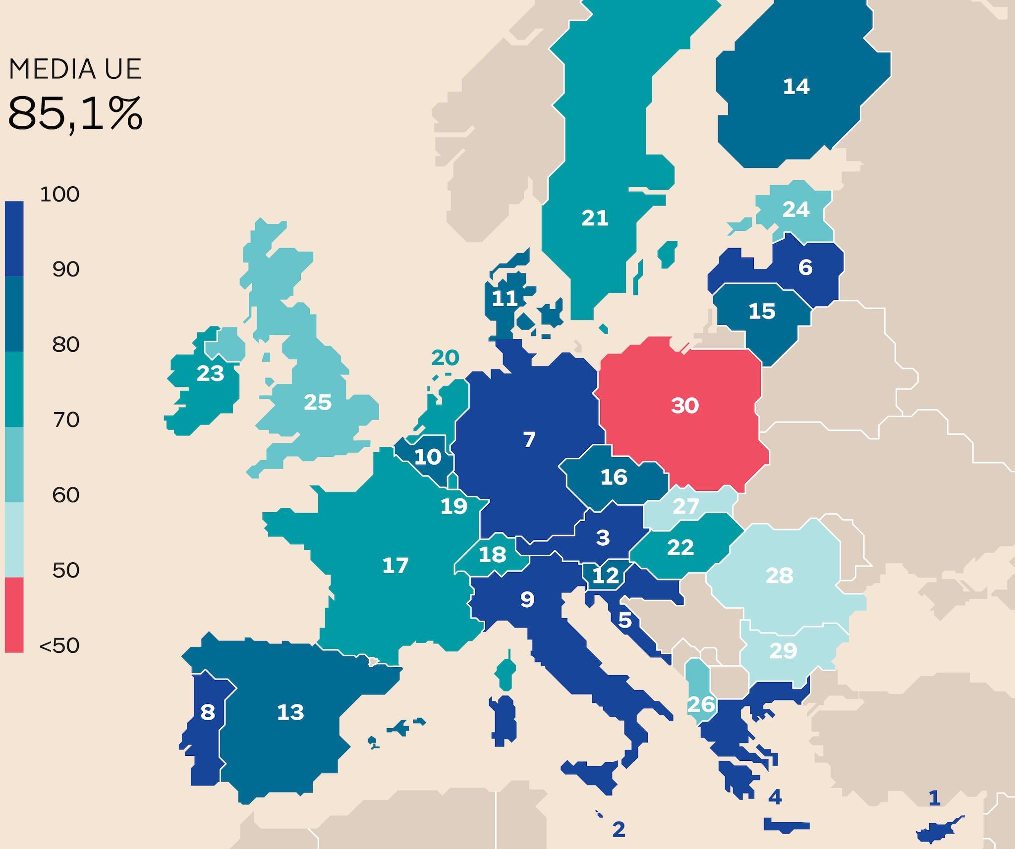 DOVE SI PUÒ FARE IL BAGNO IN EUROPA
