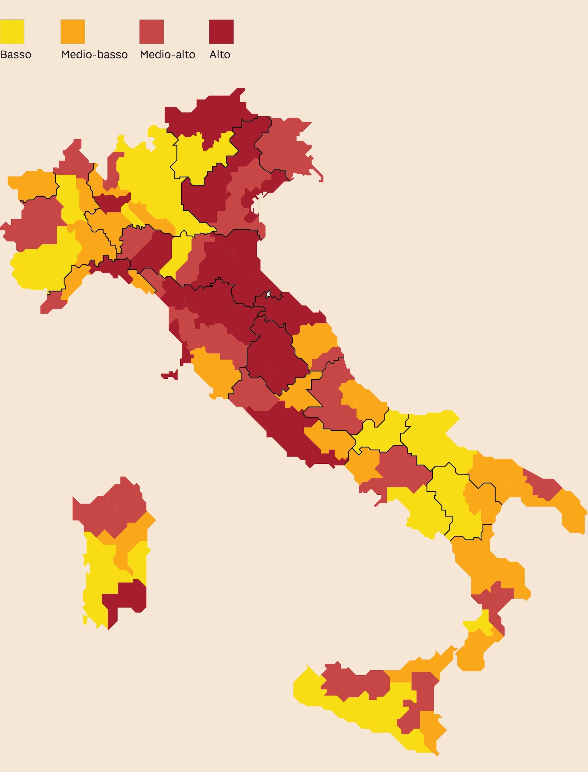 ANOMALIE NELL'USO DI CONTANTE IN ITALIA