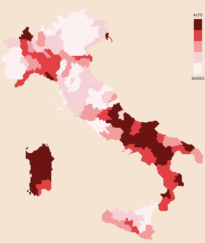 CASH-RATIO IN ITALIA