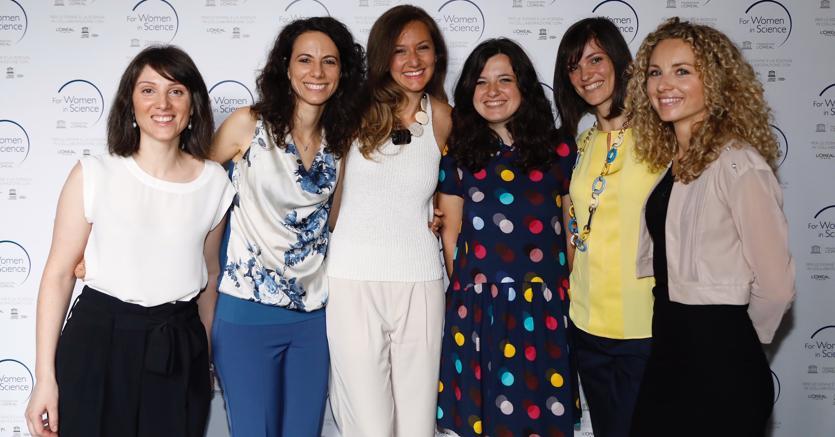 Le sei ricercatrici italiane premiate