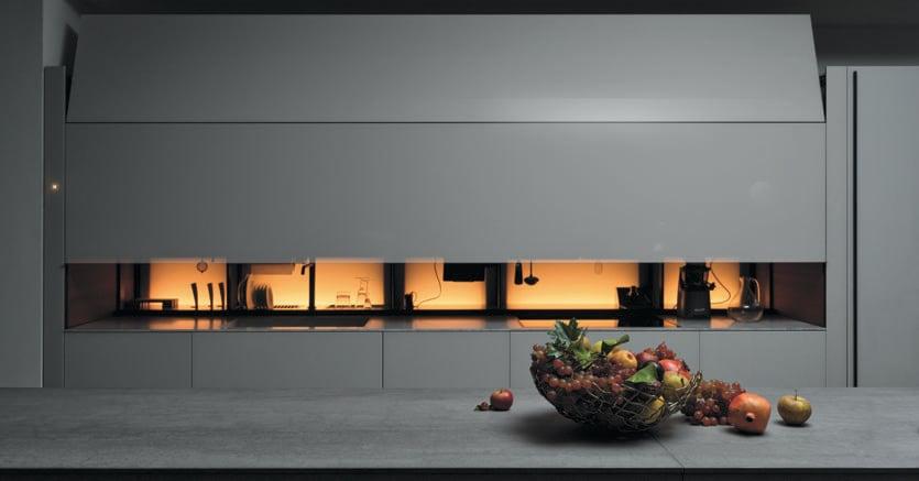 Cucina non solo da esibire ora all occorrenza si pu nascondere il sole 24 ore - Arte sole cucine ...