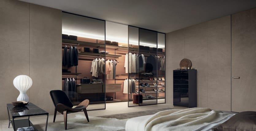 Rimadesio, cabina armadio Dress Bold, design Giuseppe Bavuso