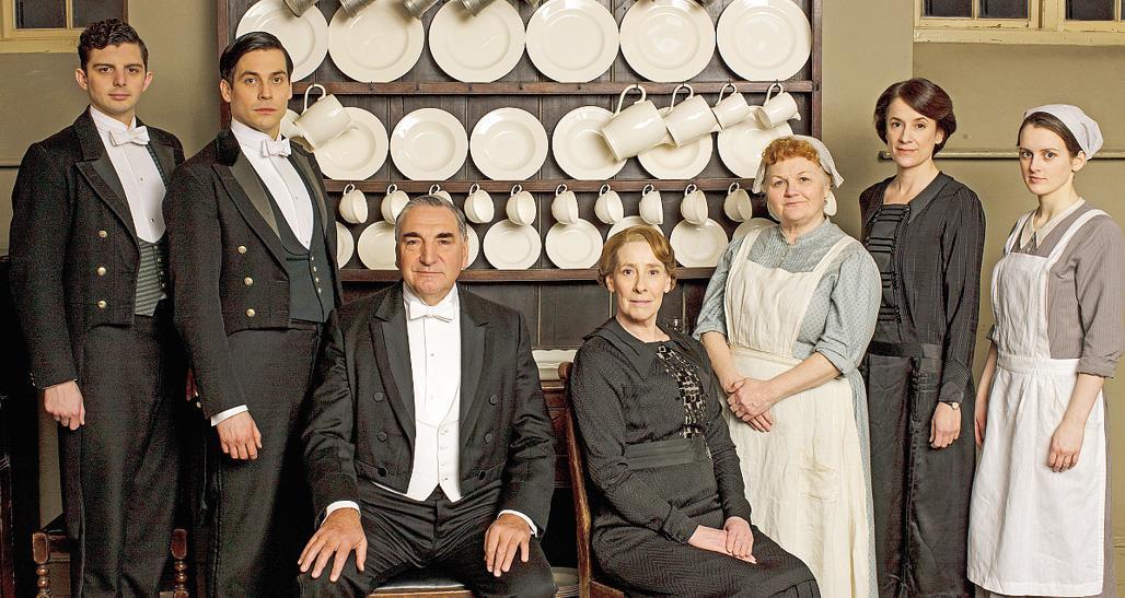Lo staff di Downton Abbey