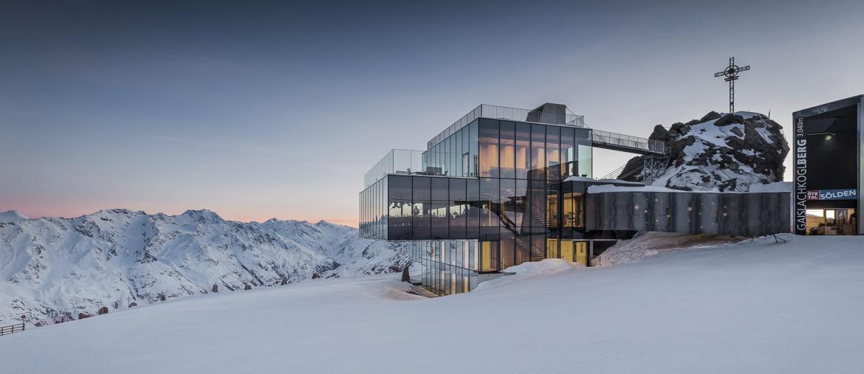 L'IceQ, sulle cime innevate di Sölden. Rudi Wyhlidal