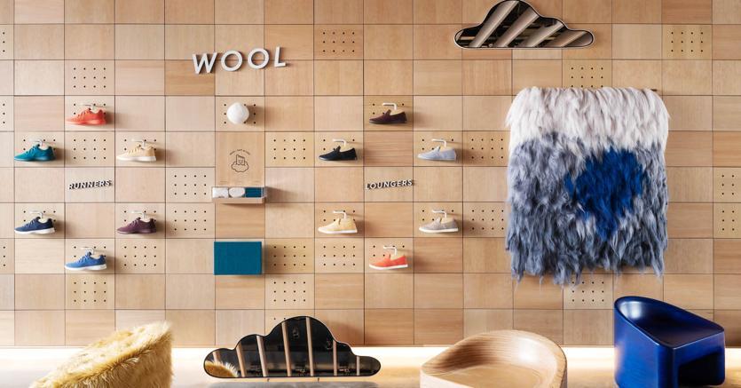 Il caso  Allbirds. Grazie alle sue sneaker ecologiche in lana merinos e fibre naturali, la start up lanciata nel 2016 nella Silicon Valley è stata appena valutata 1,4 miliardi di dollari. E sta programmando nuove aperture anche in Asia ed Europa