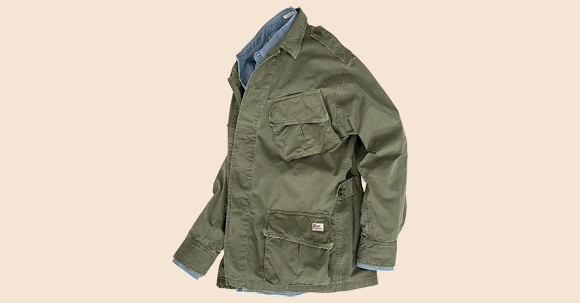 Fieldjacket. La riedizione di un giubbotto iconico del marchio