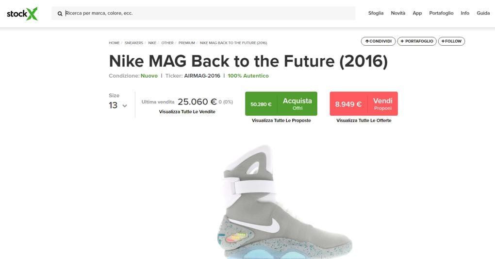 StockX in Italia, gli affari del reseller online delle sneakers