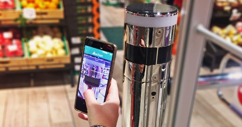 Ecco AuchanSpeedy: la spesa al supermercato si fa solo con l'app e senza casse