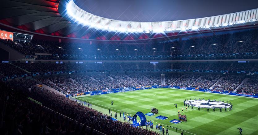 Fifa la Champions League
