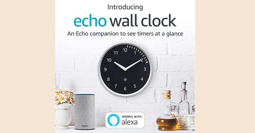 e37aa9c598 Echo Wall Clock , è in arrivo l'orologio intelligente di Amazon - Il ...