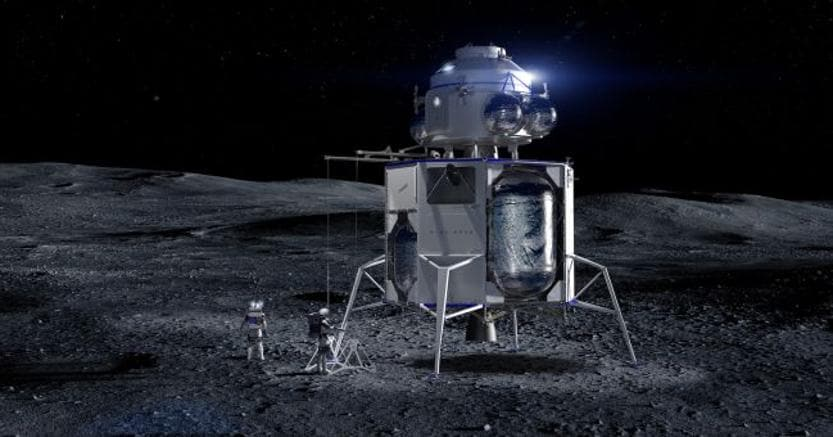 Luna, Jeff Bezos presenta il suo