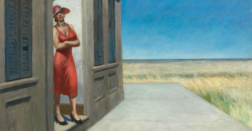 Rarissimo sul mercato, apprezzato in vita, Edward Hopper in mostra ...