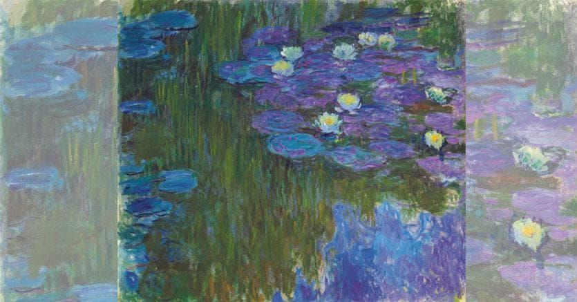 Claude Monet (1840-1926). Nymphéas en fleur