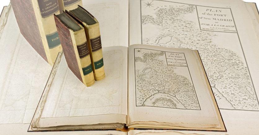 """Gonnelli, Libreria Antiqauria – Casa d'Aste """"Voyage dans l'Amérique sepentrionale, ou descriprion des pays arrosés par le Mississipi, L'Ohio, le Missouri et autres riviere affluentes"""""""