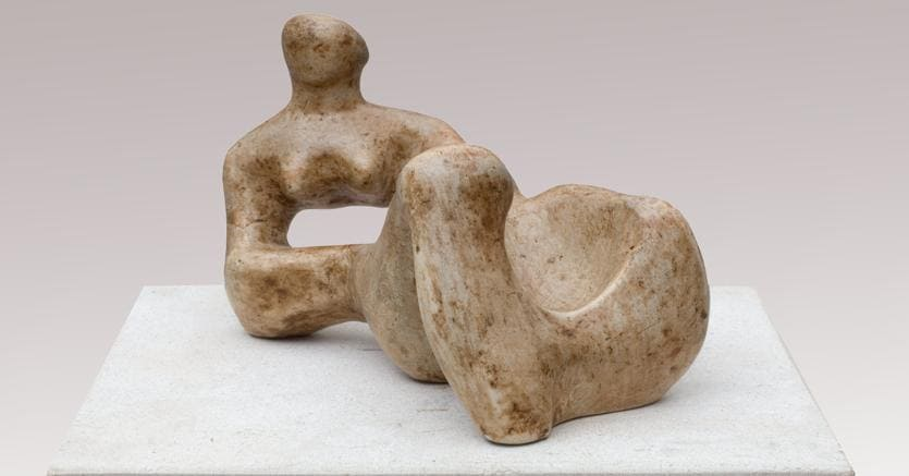 Henry Moore Recumbent figure, Piano Nobile at Masterpiece London 2018