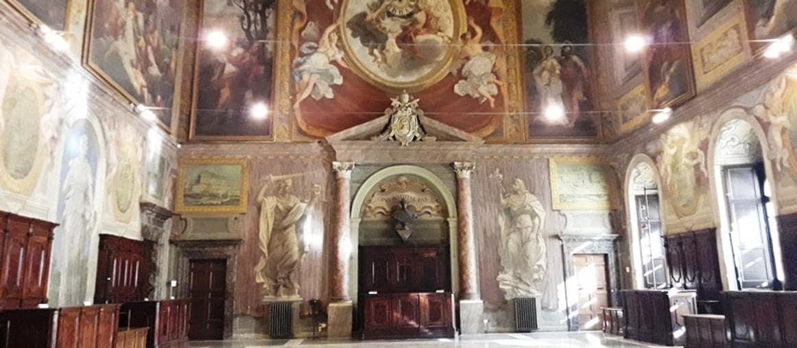 Salone del Palazzo della Cancelleria