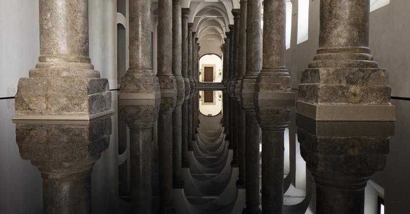 L'installazione di Per Barclay alla Cavallerizza di Palazzo Mazzarino. Courtesy: FPAC Francesco Pantaleone Arte Contemporanea