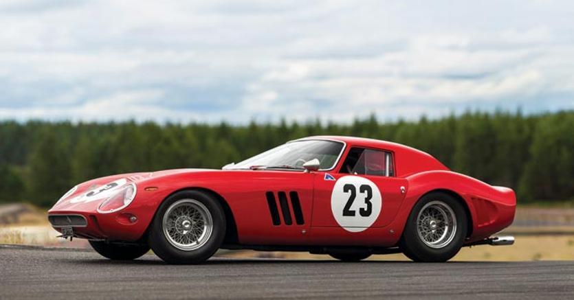 Ferrari 250 GTO, 1962 by Scaglietti, venduta per 48.405.000 $ da RM  Sotheby's Monterey 2018