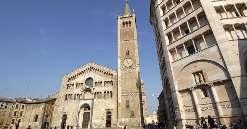Il Duomo e il Battistero di Parma - Agf