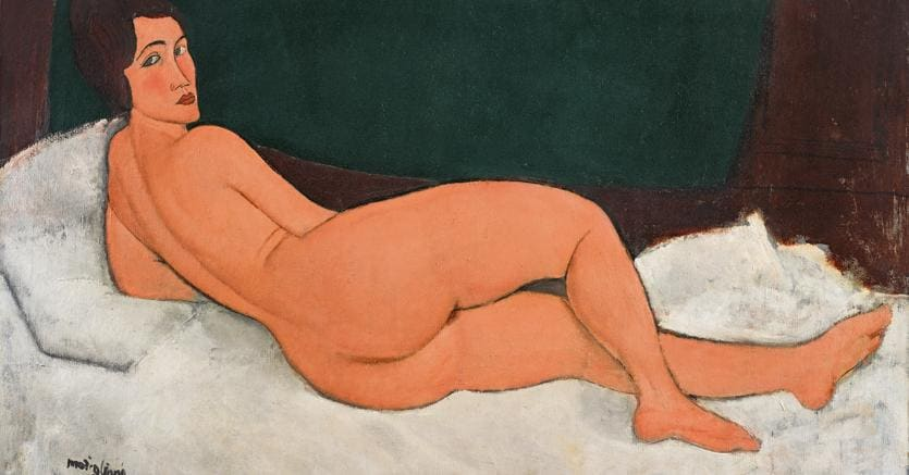 The highest auction price in Sotheby's history: Amedeo Modigliani's Nu couché (sur le côté gauche) sells for $157.2 million. Modigliani becomes the first artist to cross the $150 million auction threshold twice.