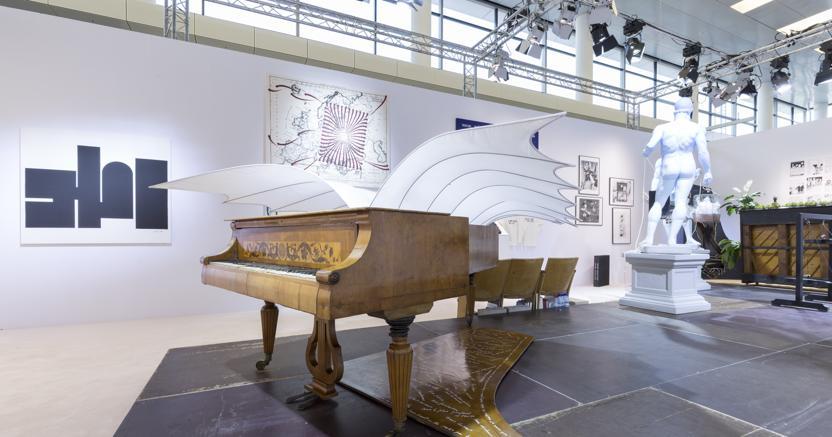 Presentazione speciale dell'Archivio Conz ad Art Cologne 2019, Courtesy Art Cologne