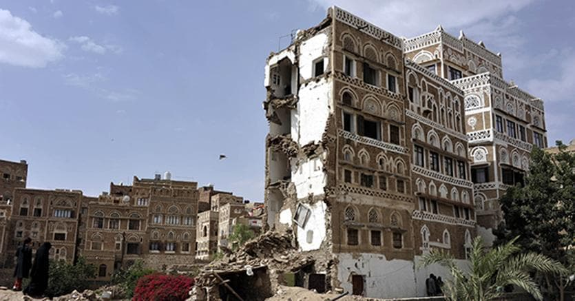 Old City of Sana'a, Yemen, World Heritage site © UNESCO/F. Bandarin