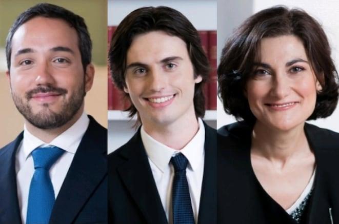 Luca Gambini, Daniel Giuliano, Antonia Verna