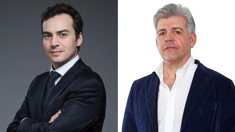 Da sinistra: Giacomo Gitti, Roberto Rio