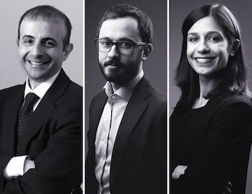 Gaspare Dori, Nicolò Nisi e Sarah Barutti.