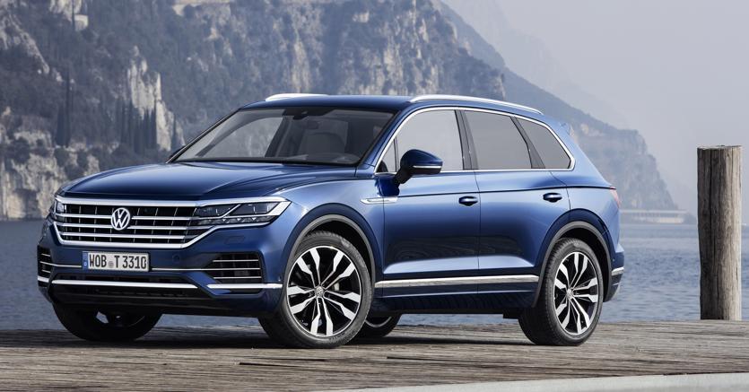 La nuova edizione della Touareg, ammiraglia dei suv Volkswagen con una ricca dotazione di tecnologie