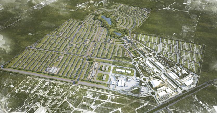 Smart City Laguna nella regione del Cearà in Brasile