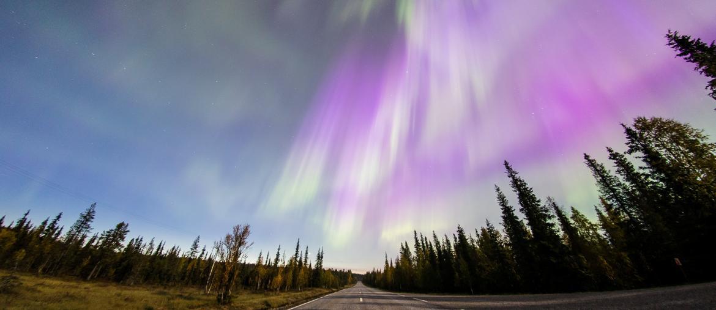 L'aurora boreale a Pallas Lapponia (REUTERS/Alexander Kuznetsov)