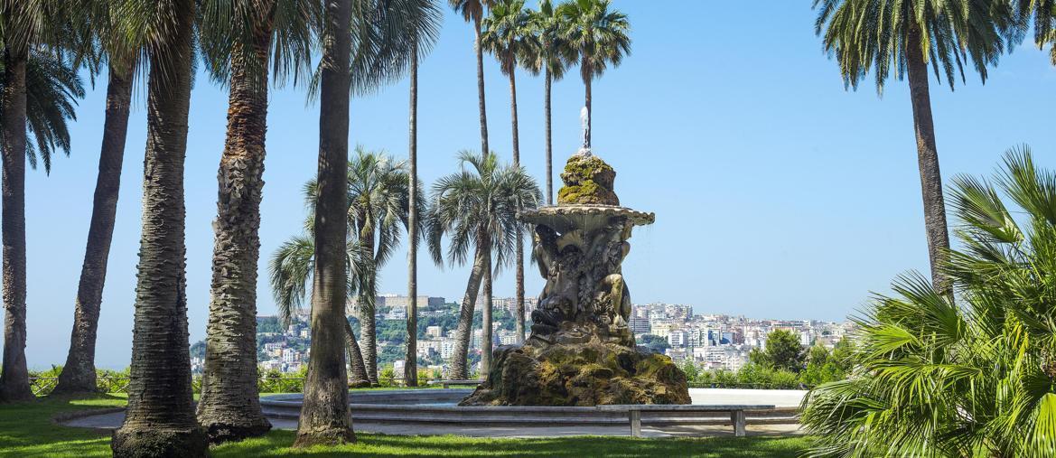 Parco di Capodimonte a Napoli (Marka)