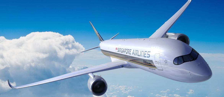 Un esemplare di A350-900ULR Airbus in volo. (SINGAPORE AIRLINES / AFP)