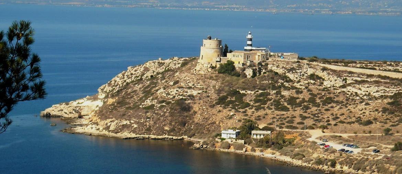 Cagliari, il faro di Sant'Elia