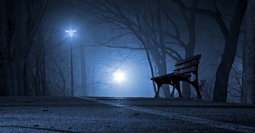 Nel buio profondo