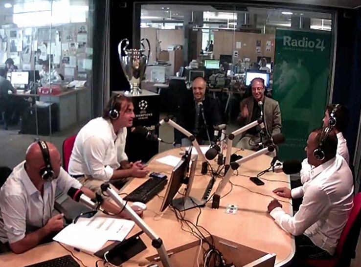 La Champions in diretta VIDEO a Radio 24