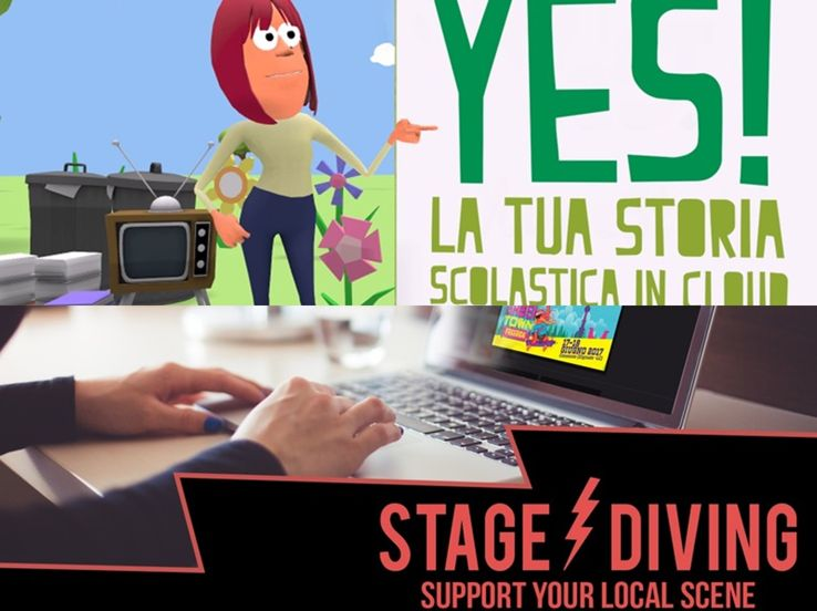 YeS!-La tua storia scolastica in Cloud - STAGE DIVING-Support your local scene