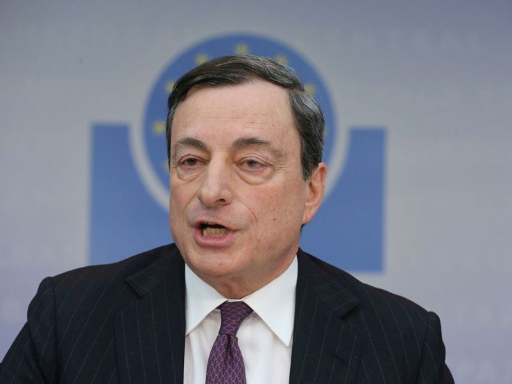 "In ""gita"" da Mario Draghi"