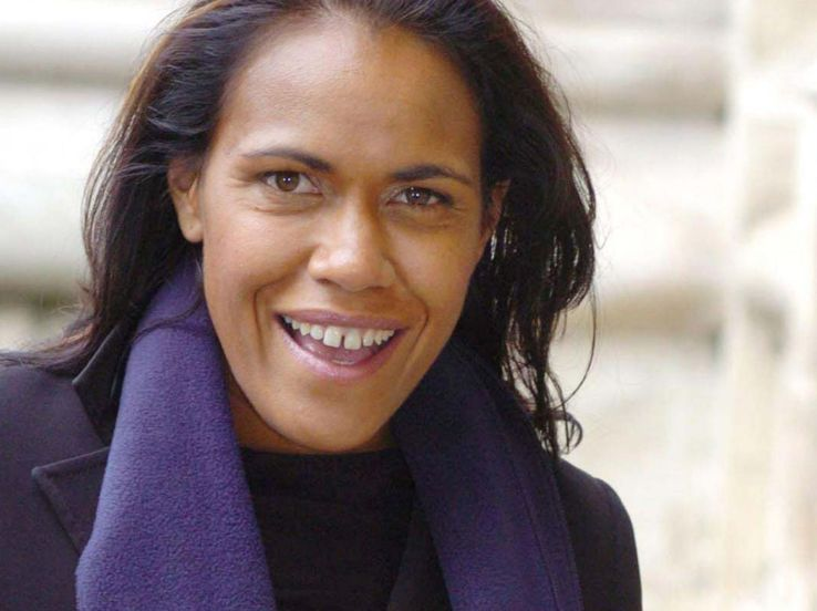 Cathy Freeman, a free woman
